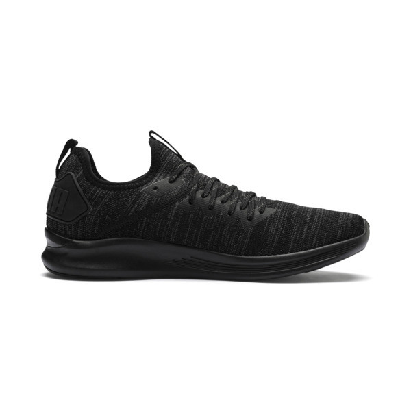 IGNITE Flash evoKNIT Herren Sneaker, Puma Black, large