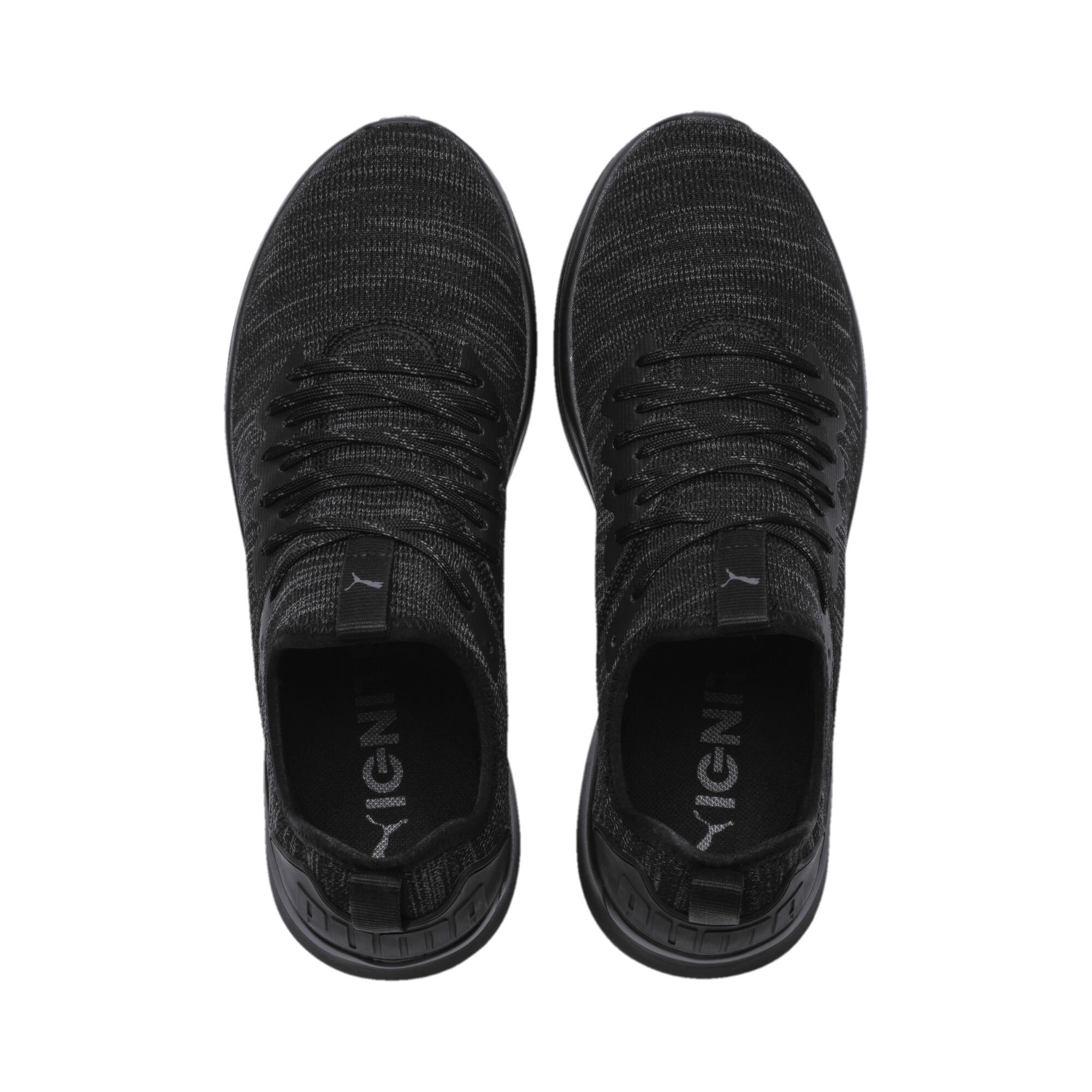 70ae192a Shoes10 Black Evoknit Men's Ignite Flash Running Puma 2WEDH9I