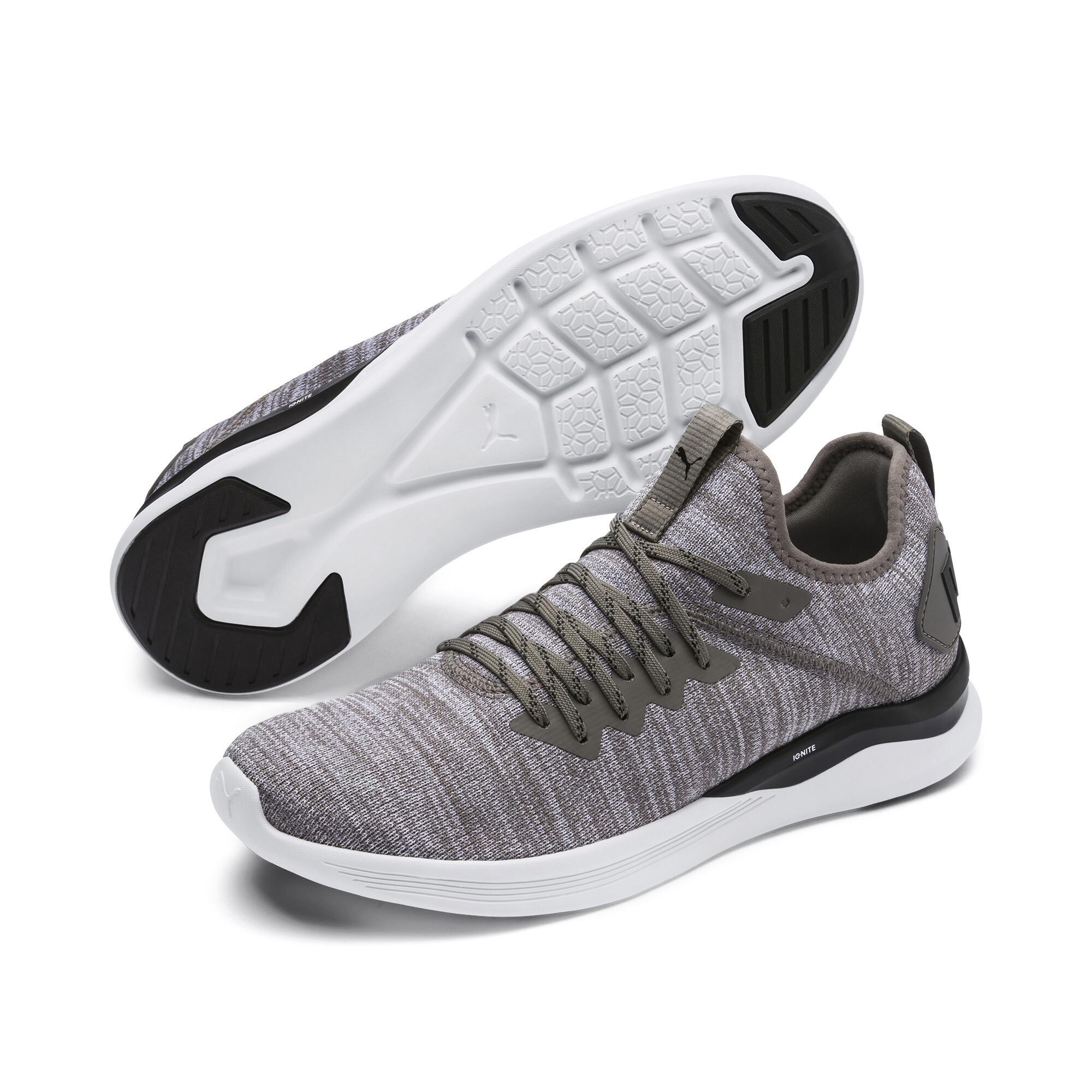 Image Puma IGNITE Flash evoKNIT Men's Training Shoes #3