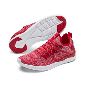 Thumbnail 3 of IGNITE Flash evoKNIT Men's Training Shoes, High Risk Red-Puma White, medium