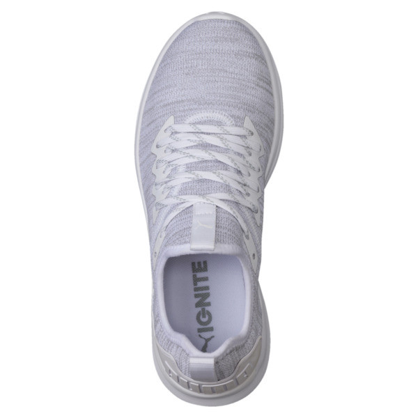 IGNITE Flash evoKNIT Women's Training Shoes, Puma White, large