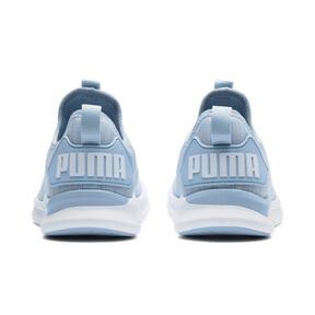Thumbnail 4 of IGNITE Flash evoKNIT Women's Training Shoes, CERULEAN-Quarry-Puma White, medium