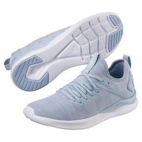 Thumbnail 2 of IGNITE Flash evoKNIT Women's Training Shoes, CERULEAN-Quarry-Puma White, medium