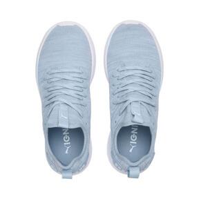 Thumbnail 6 of IGNITE Flash evoKNIT Women's Training Shoes, CERULEAN-Quarry-Puma White, medium