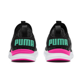 Thumbnail 4 of IGNITE Flash evoKNIT Women's Running Shoes, Black-PINK-Biscay Green, medium