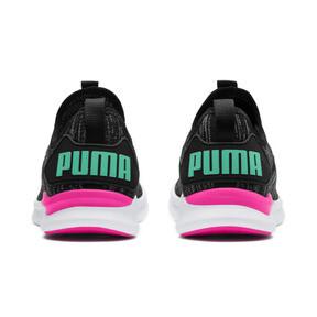 Thumbnail 4 of IGNITE Flash evoKNIT Women's Training Shoes, Black-PINK-Biscay Green, medium