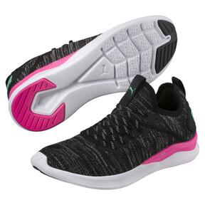 Thumbnail 3 of IGNITE Flash evoKNIT Women's Training Shoes, Black-PINK-Biscay Green, medium