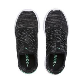 Thumbnail 7 of IGNITE Flash evoKNIT Women's Training Shoes, Black-PINK-Biscay Green, medium