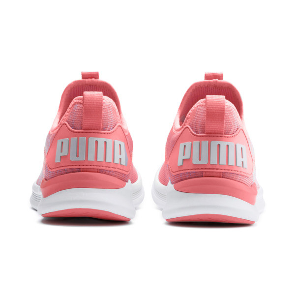 IGNITE Flash evoKNIT Women's Running Shoes, Bright Peach-Puma White, large