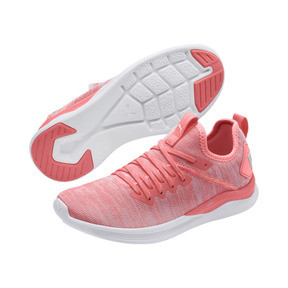 Thumbnail 3 of IGNITE Flash evoKNIT Women's Running Shoes, Bright Peach-Puma White, medium
