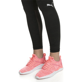 Thumbnail 2 of IGNITE Flash evoKNIT Women's Running Shoes, Bright Peach-Puma White, medium