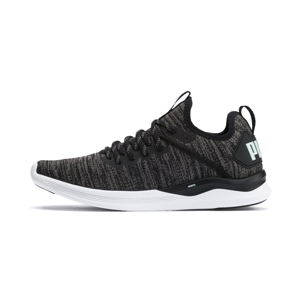 Image Puma IGNITE Flash evoKNIT Women's Running Shoes #1