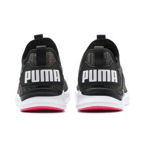 Thumbnail 4 van IGNITE Flash evoKNIT hardloopschoenen voor vrouwen, Black-White-Pink Alert, medium