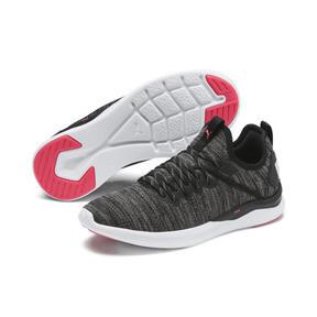 Thumbnail 3 van IGNITE Flash evoKNIT hardloopschoenen voor vrouwen, Black-White-Pink Alert, medium