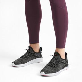 Thumbnail 2 van IGNITE Flash evoKNIT hardloopschoenen voor vrouwen, Black-White-Pink Alert, medium