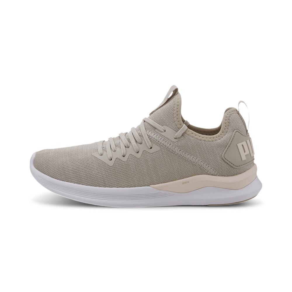 statement Interaction Transport  IGNITE Flash evoKNIT Women's Running Shoes | Gray - PUMA