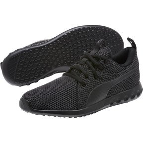 Thumbnail 2 of Carson 2 Nature Knit Women's Running Shoes, Periscope-Puma Black, medium