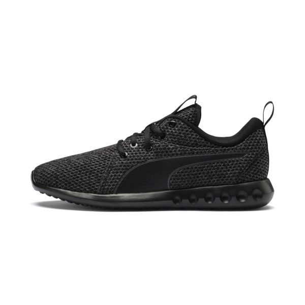 Carson 2 Nature Knit Women's Running Shoes, Periscope-Puma Black, large