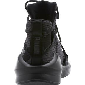 Thumbnail 4 of Fierce Rope Pleats Women's Sneakers, Puma Black-Puma Black, medium