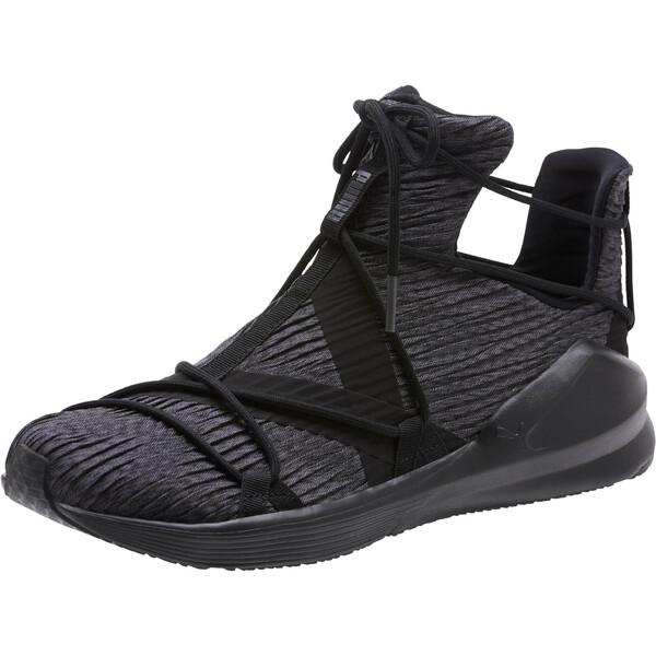 Fierce Rope Pleats Women's Sneakers, Puma Black-Puma Black, large
