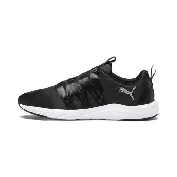 Prowl Alt Satin Women's Training Shoes, Puma Black-Puma White, large