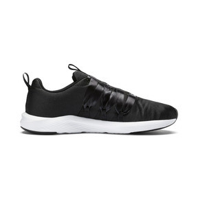 Thumbnail 5 of Prowl Alt Satin Women's Training Shoes, Puma Black-Puma White, medium