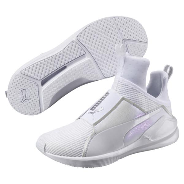 Fierce En Pointe Women's Training Shoes, Puma White-Puma White, large