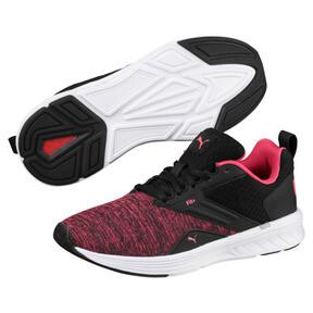 Thumbnail 2 of NRGY Comet Running Shoes, Puma Black-Paradise Pink, medium