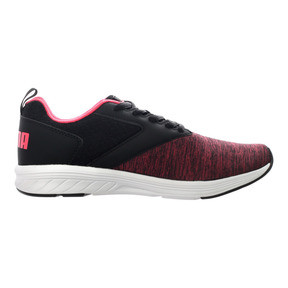 Thumbnail 4 of NRGY Comet Running Shoes, Puma Black-Paradise Pink, medium