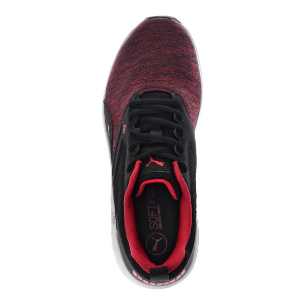 NRGY Comet Running Shoes, Puma Black-Paradise Pink, large