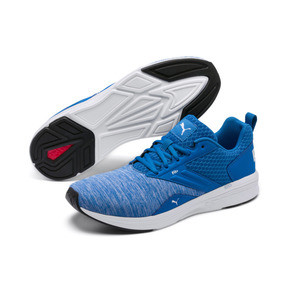 Thumbnail 2 of NRGY Comet Running Shoes, Indigo Bunting-Puma White, medium