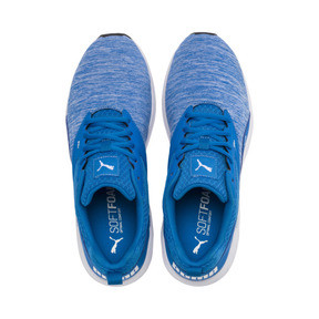 Thumbnail 6 of NRGY Comet Running Shoes, Indigo Bunting-Puma White, medium