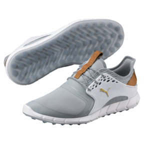 Thumbnail 2 of IGNITE PWRSPORT Men's Golf Shoes, Quarry-Gold-White, medium