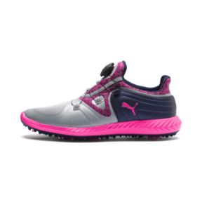 Thumbnail 1 of IGNITE Blaze Sport DISC Women's Golf Shoes, Quarry-KNOCKOUT PINK, medium