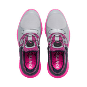 Thumbnail 6 of IGNITE Blaze Sport DISC Women's Golf Shoes, Quarry-KNOCKOUT PINK, medium