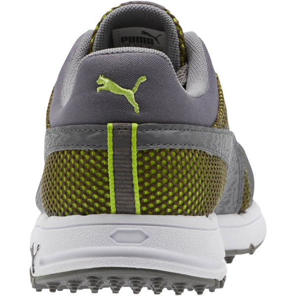 GRIP Sport Tech Men's Golf Shoes, QUIET SHADE-QUIET SHADE-Lime, large