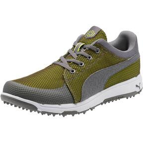 Thumbnail 1 of GRIP Sport Tech Men's Golf Shoes, QUIET SHADE-QUIET SHADE-Lime, medium