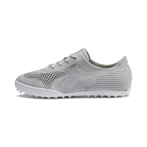 Monolite Cat Woven Women's Golf Shoes, Glacier Gray-Glacier Gray, large