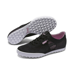 Thumbnail 2 of Monolite Cat Woven Women's Golf Shoes, Puma Black-Pale Pink, medium