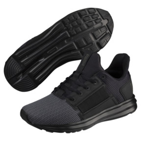 Thumbnail 2 of Enzo Street JR Sneakers, Puma Black-Iron Gate, medium