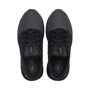 Thumbnail 6 of Enzo Street JR Sneakers, Puma Black-Iron Gate, medium