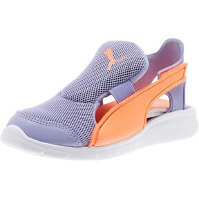 Thumbnail 1 of Bao 3 Open Little Kids' Shoes, Sweet Lavender-Fluo Peach, medium