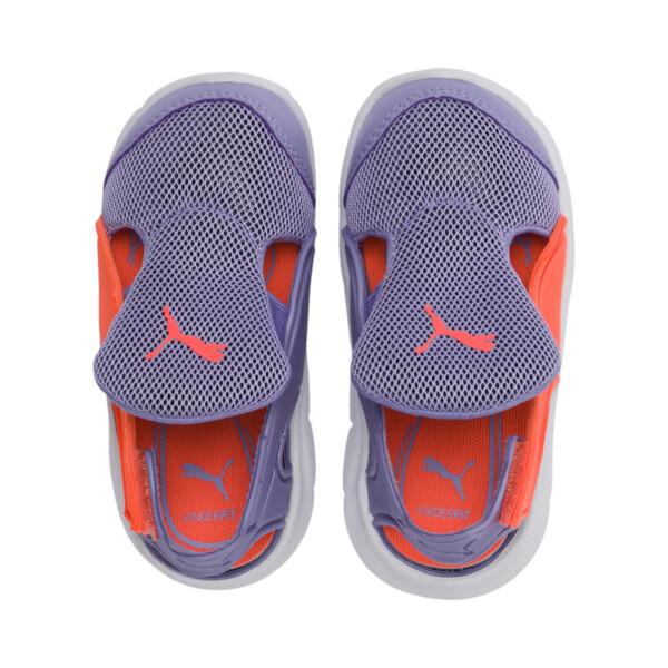 Bao 3 Open Little Kids' Shoes, Sweet Lavender-Fluo Peach, large