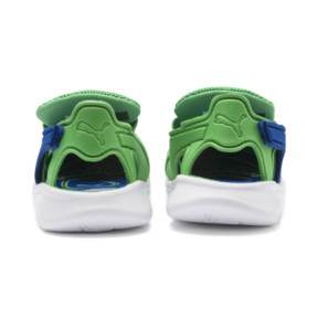 Thumbnail 4 of PUMA Bao 3 Open Toddler Shoes, Surf The Web-Irish Green, medium