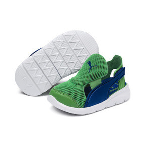 Thumbnail 2 of PUMA Bao 3 Open Toddler Shoes, Surf The Web-Irish Green, medium