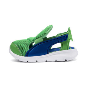 Thumbnail 1 of PUMA Bao 3 Open Toddler Shoes, Surf The Web-Irish Green, medium