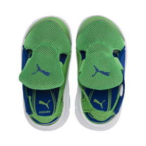 Thumbnail 6 of PUMA Bao 3 Open Toddler Shoes, Surf The Web-Irish Green, medium