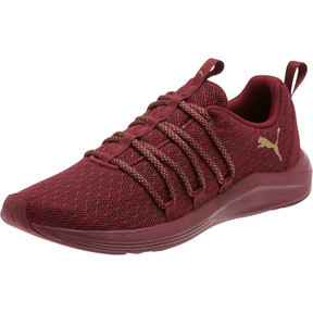 Thumbnail 1 of Prowl Alt Knit Mesh Women's Running Shoes, Cordovan-Metallic Gold, medium