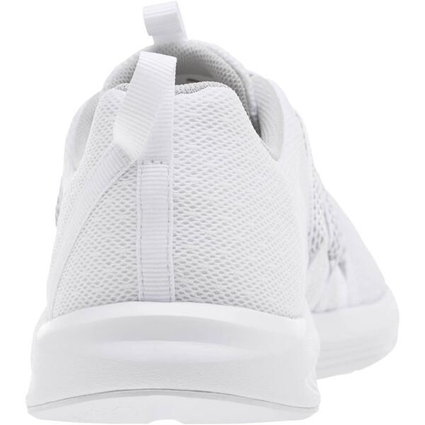 Prowl Alt Knit Mesh Women's Running Shoes, Puma White-Metallic Beige, large