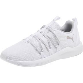 Thumbnail 1 of Prowl Alt Knit Mesh Women's Running Shoes, Puma White-Metallic Beige, medium